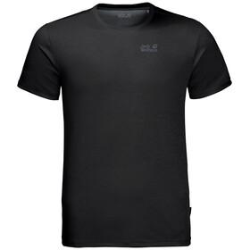 Jack Wolfskin Sky Range T-paita Miehet, black